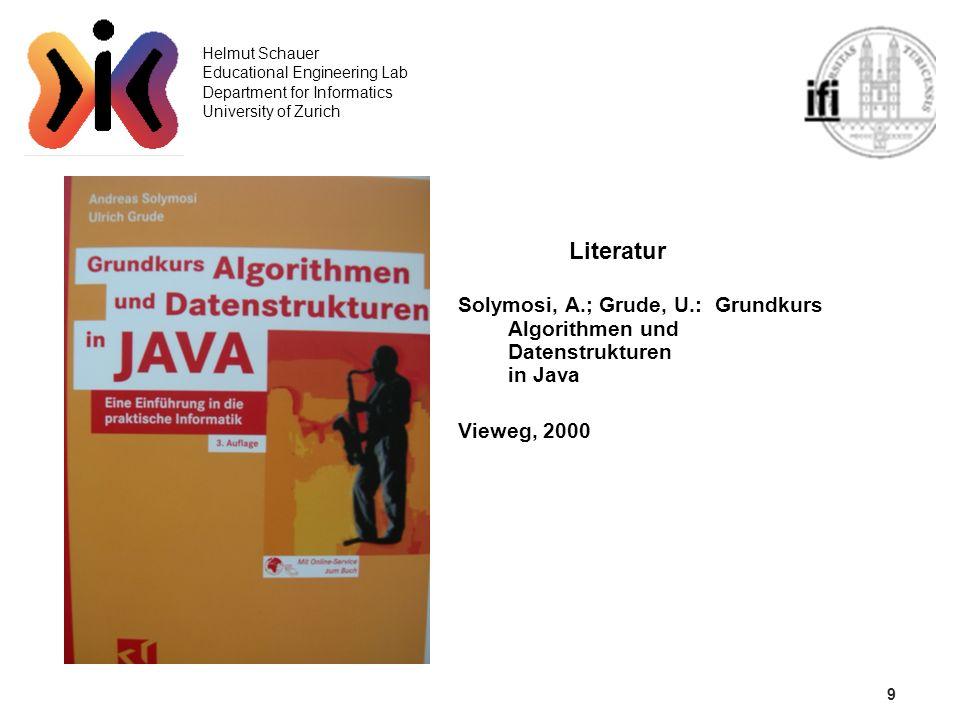 10 Helmut Schauer Educational Engineering Lab Department for Informatics University of Zurich Insertion Sort (1) for (i=1;i 0)&&(x<a[k-1])) a[k--]=a[k]; a[k]=x; {All j:1ji:a[j-1]a[j] ordered(a[0..i])} } {All j:1j<N:a[j-1]a[j] ordered(a[0..N-1])}
