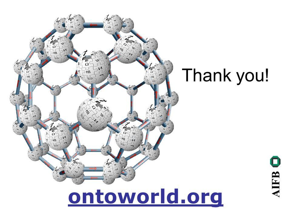 AIFB Thank you! ontoworld.org