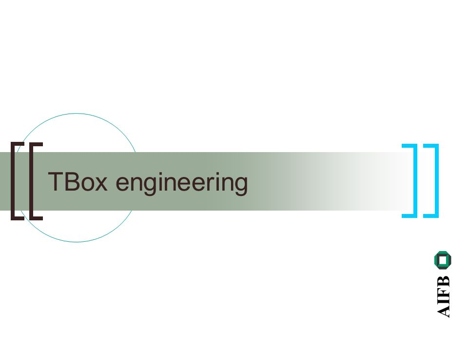 AIFB TBox engineering