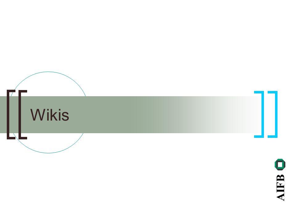 AIFB Wikis
