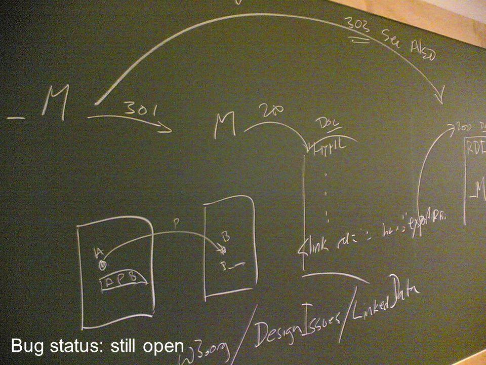 AIFB 140 Bug status: still open