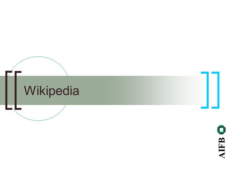 AIFB Wikipedia