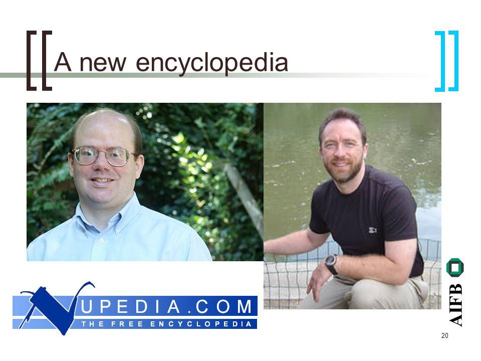 AIFB 20 A new encyclopedia