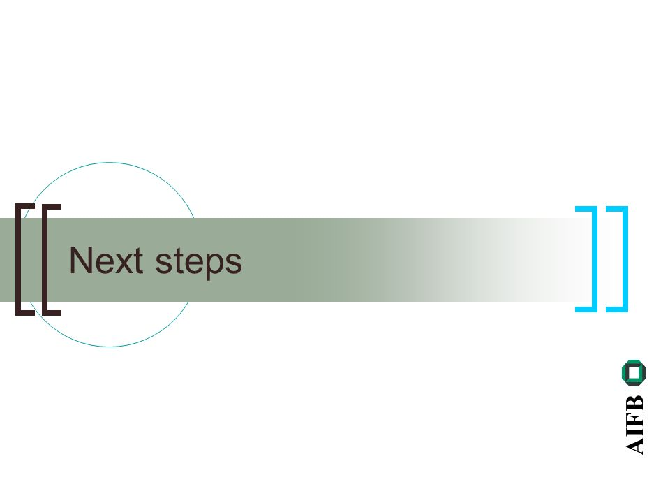 AIFB Next steps