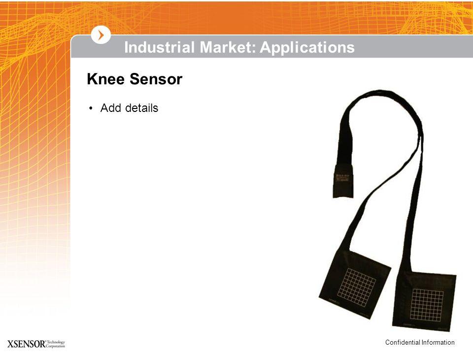 Confidential Information Knee Sensor Industrial Market: Applications Add details