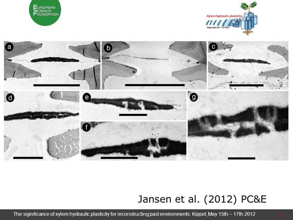 6 Jansen et al. (2012) PC&E