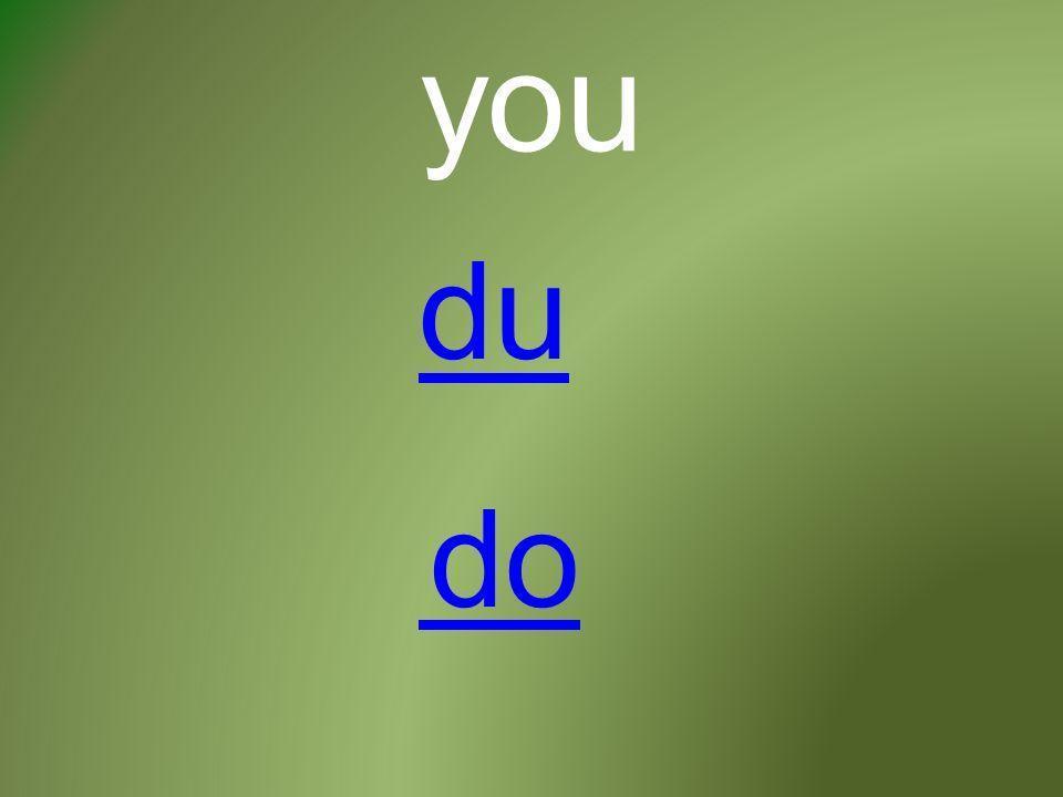 you du do