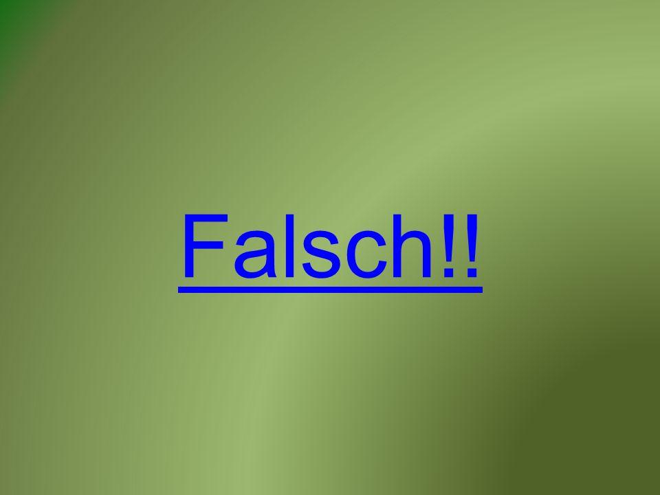 Falsch!!