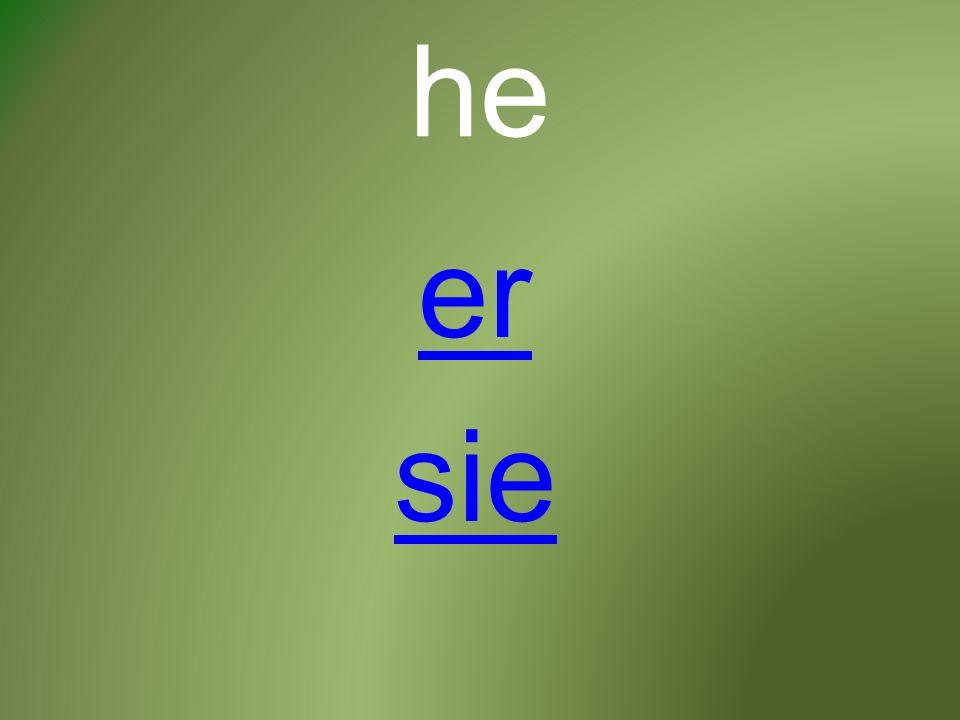 he er sie