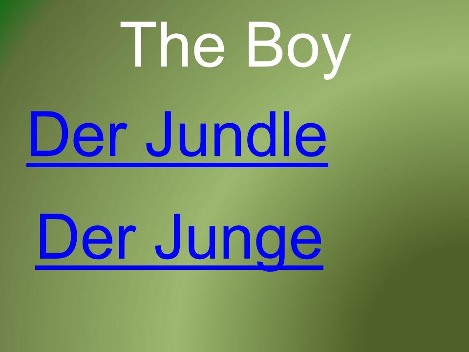 The Boy Der Jundle Der Junge