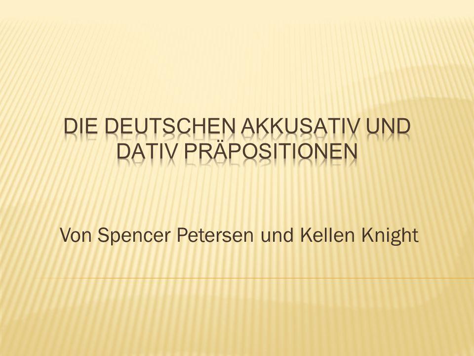 Von Spencer Petersen und Kellen Knight