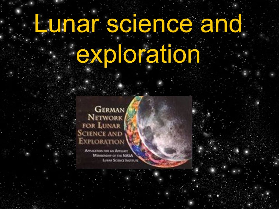 Lunar science and exploration