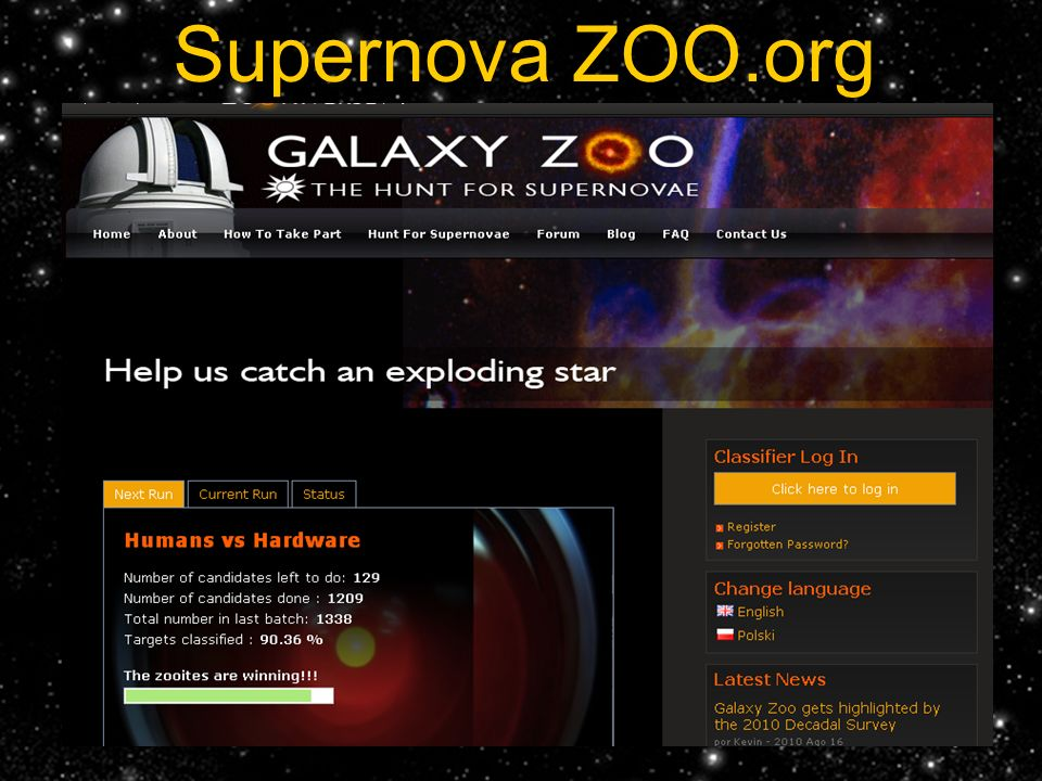 Supernova ZOO.org