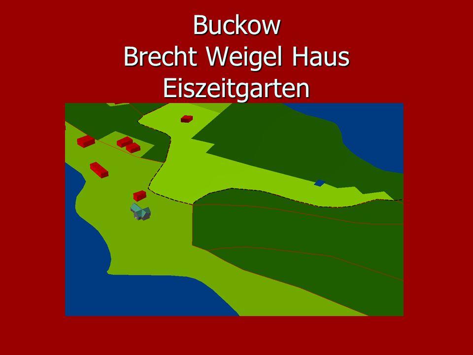 Buckow Brecht Weigel Haus Eiszeitgarten