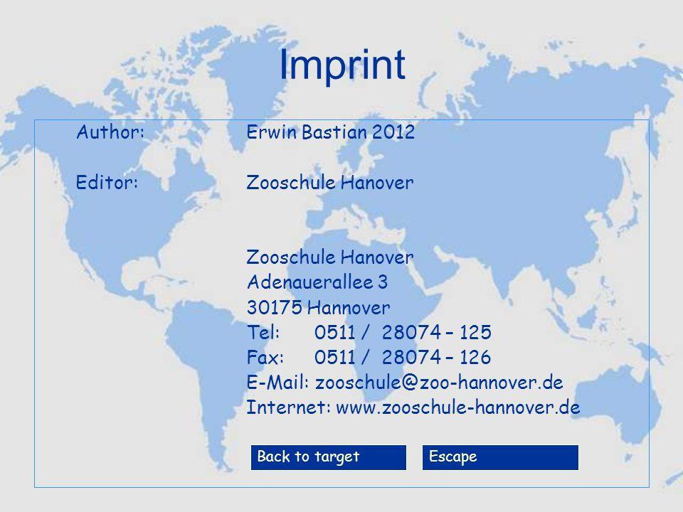 Congratulations -> Start again -> Imprint -> End