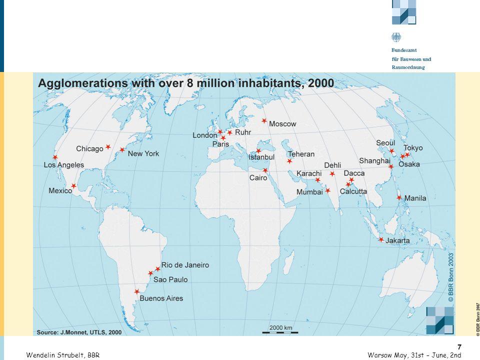 © BBR Bonn 2007 28 Warsaw May, 31st – June, 2ndWendelin Strubelt, BBR Long-time Unemployment in Europe