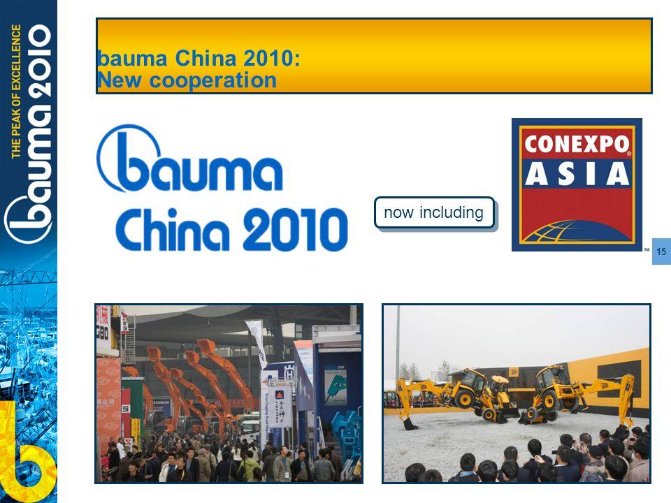 15 bauma China 2010: New cooperation now including