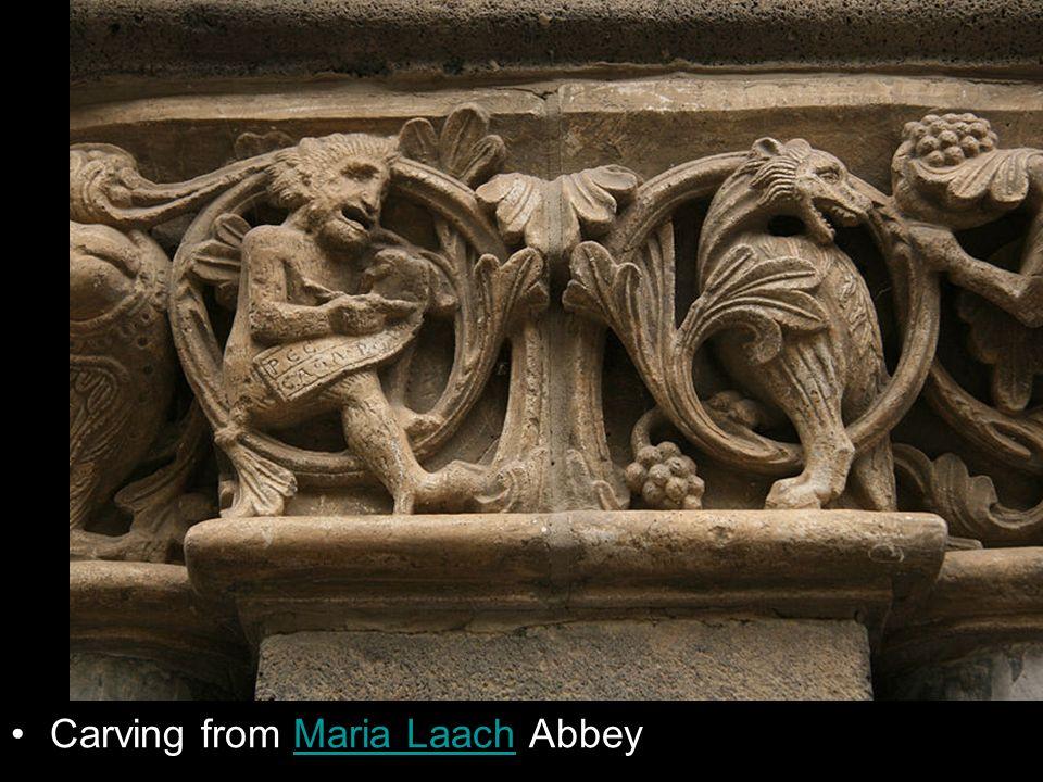 Carving from Maria Laach AbbeyMaria Laach
