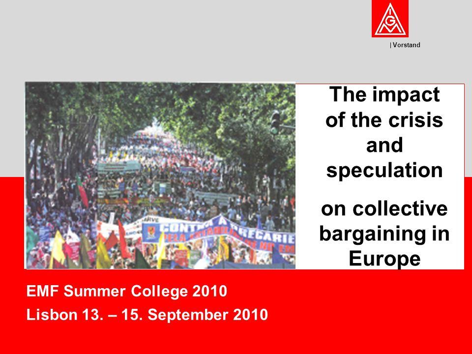 Vorstand EMF Summer College 2010 Lisbon 13. – 15.
