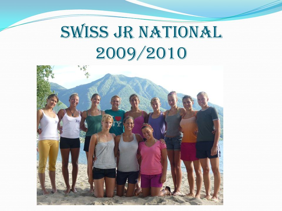 SWISS JR NATIONAL 2009/2010