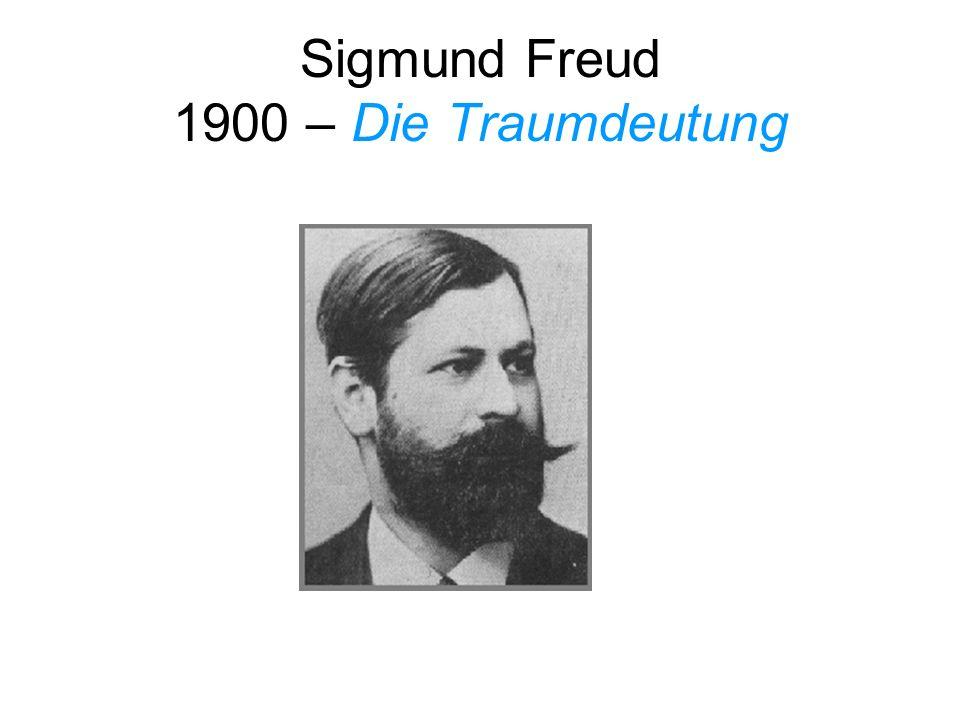 Sigmund Freud 1900 – Die Traumdeutung