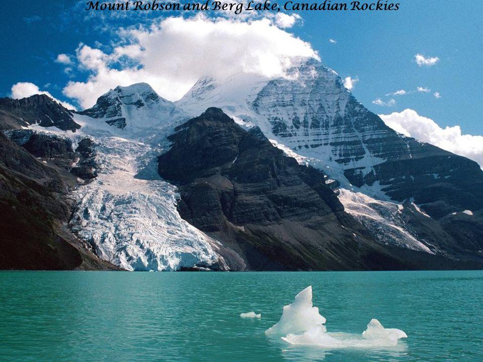 Mount Robson and Berg Lake, Canadian Rockies