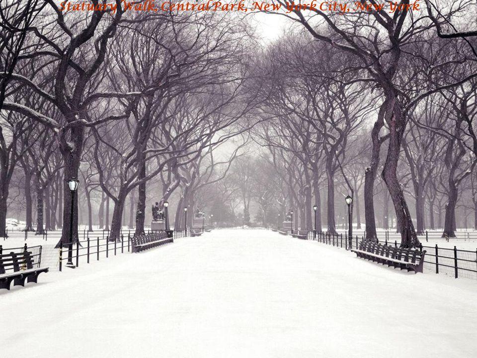 Statuary Walk, Central Park, New York City, New York
