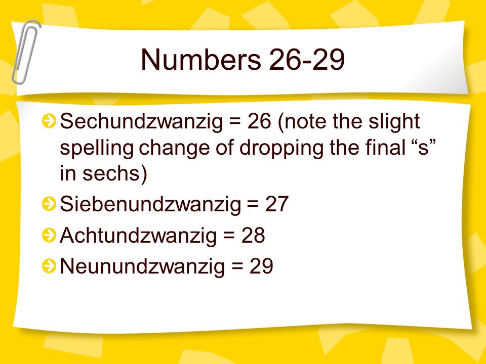 Correct The number vier is four (4). Please continue to the next question.