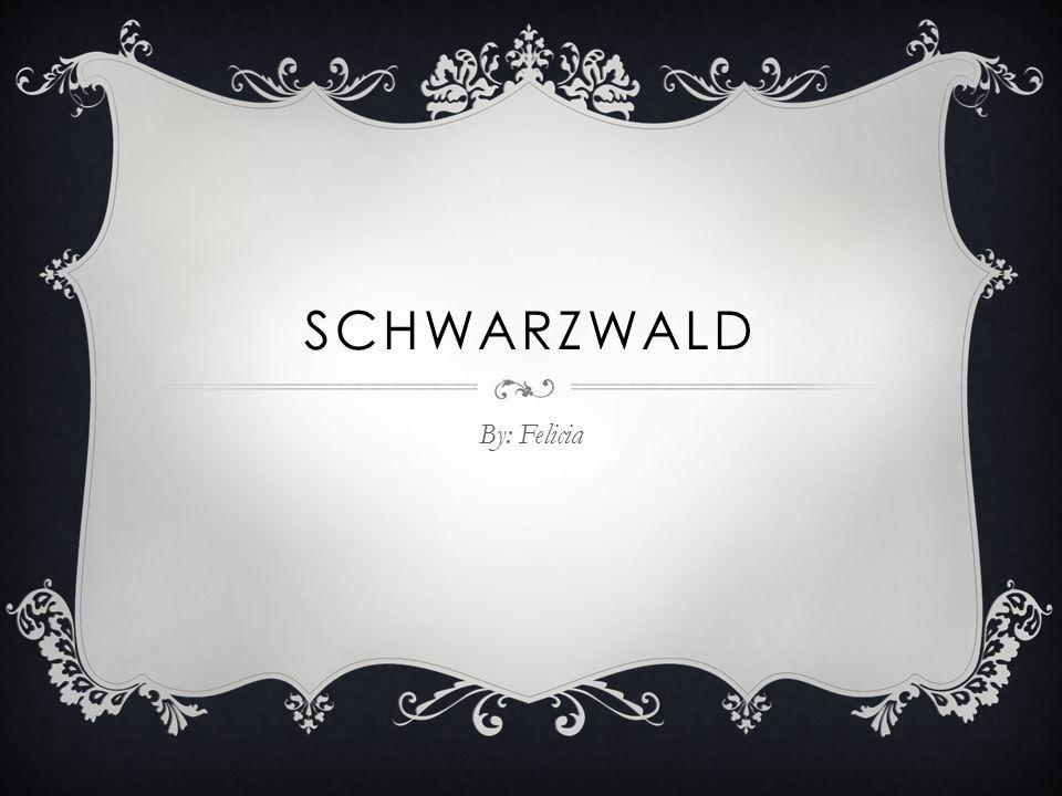 SCHWARZWALD By: Felicia
