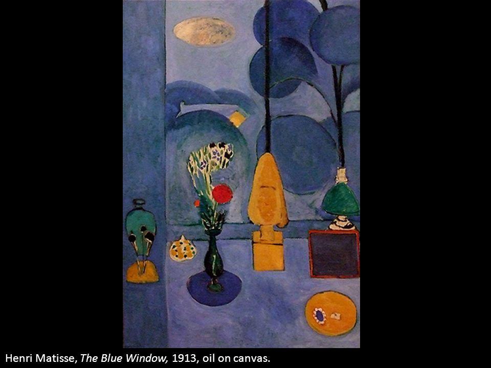 Henri Matisse, The Blue Window, 1913, oil on canvas.