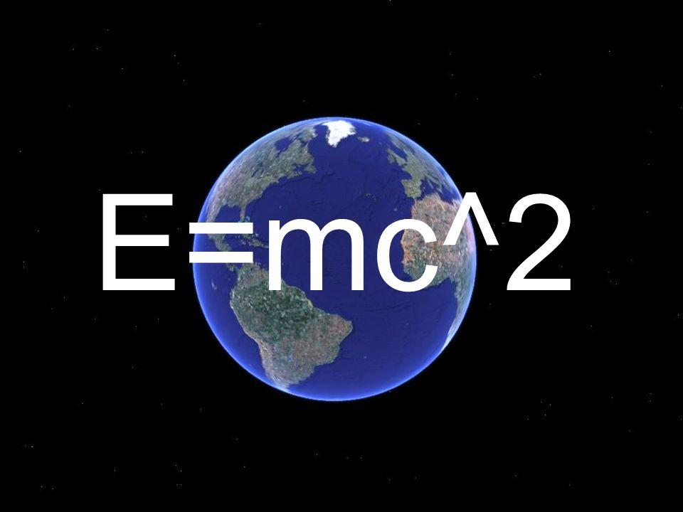 E=mc^2