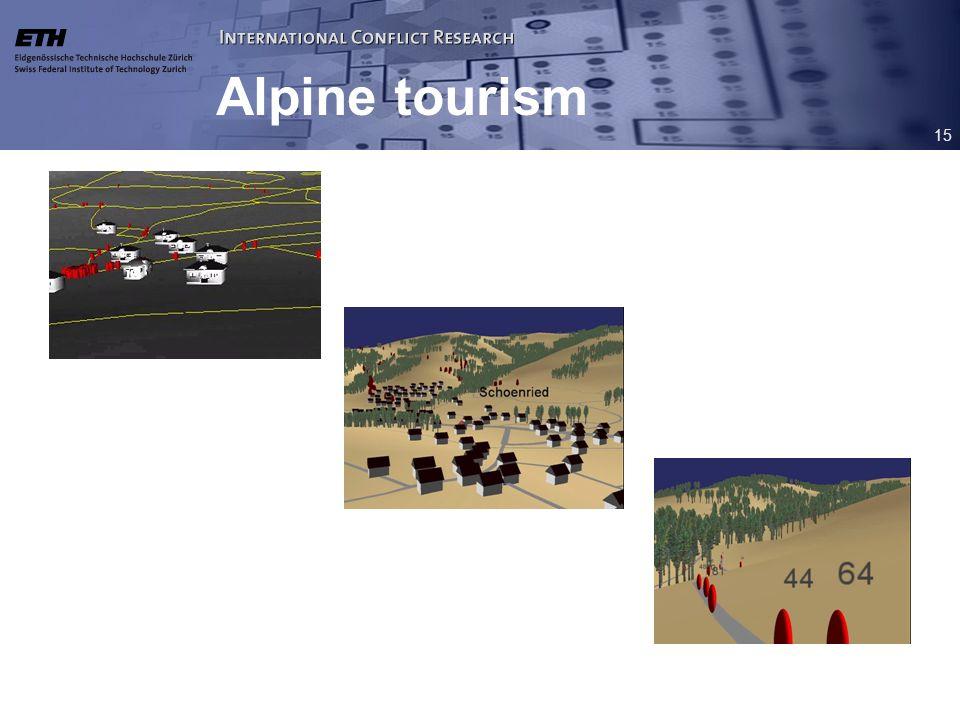 15 Alpine tourism