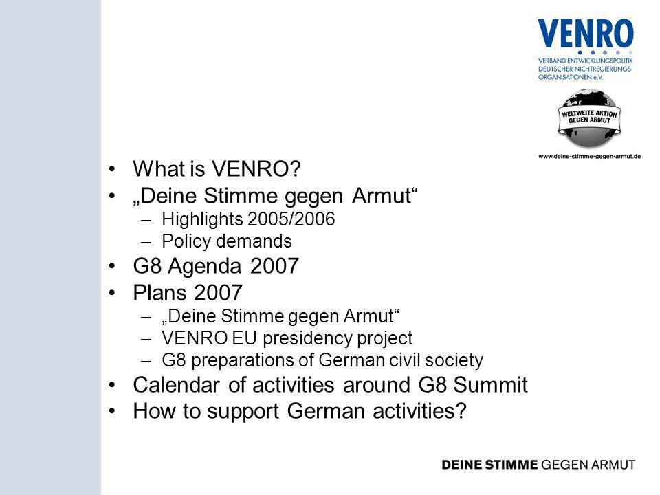 What is VENRO.