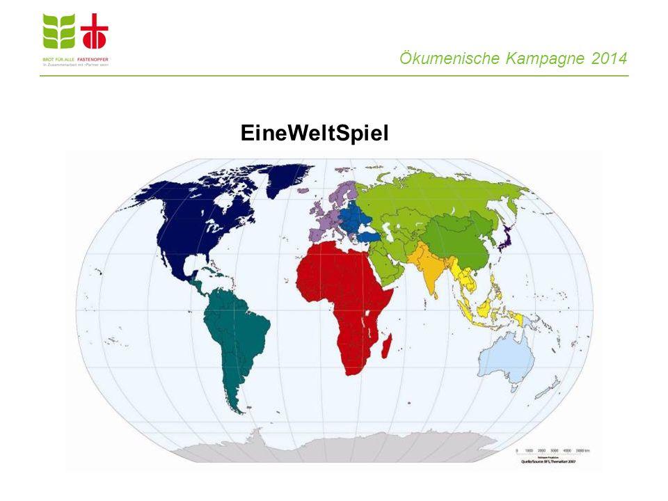 EineWeltSpiel Ökumenische Kampagne 2014