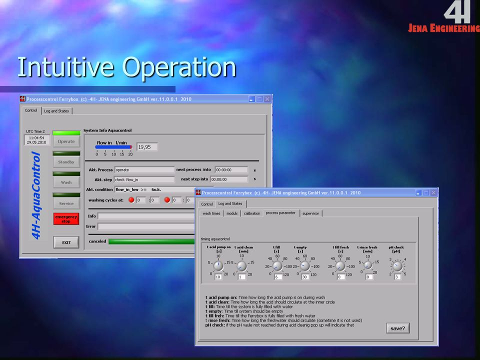Intuitive Operation
