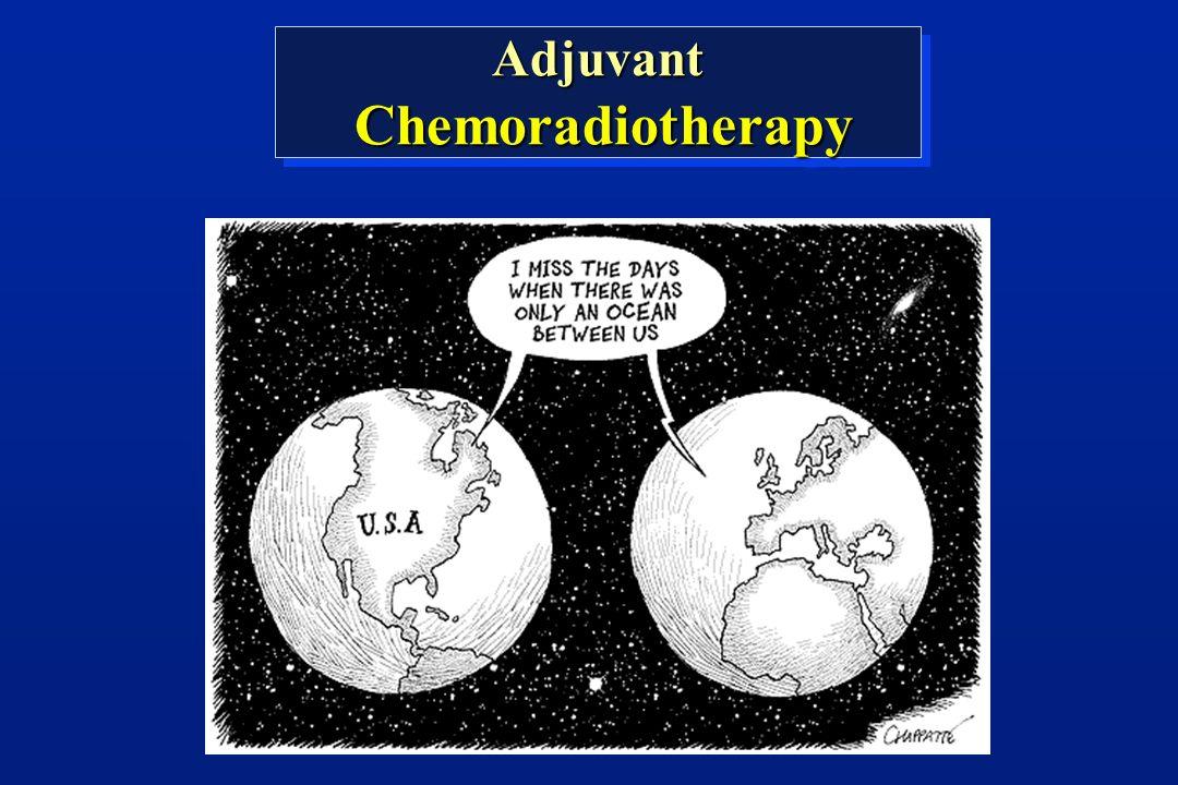 Adjuvant Chemoradiotherapy ChemoradiotherapyAdjuvant