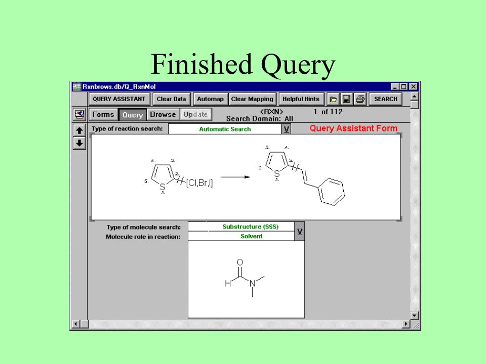 Finished Query