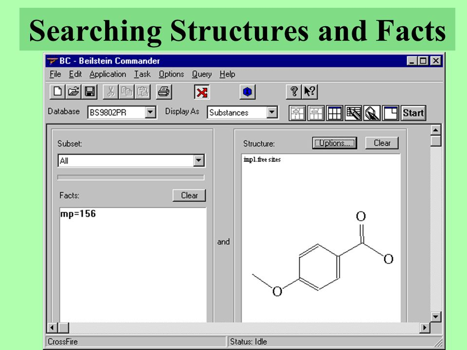 Searching Structures and Facts