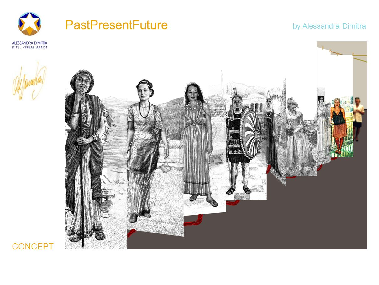 PastPresentFuture by Alessandra Dimitra CONCEPT