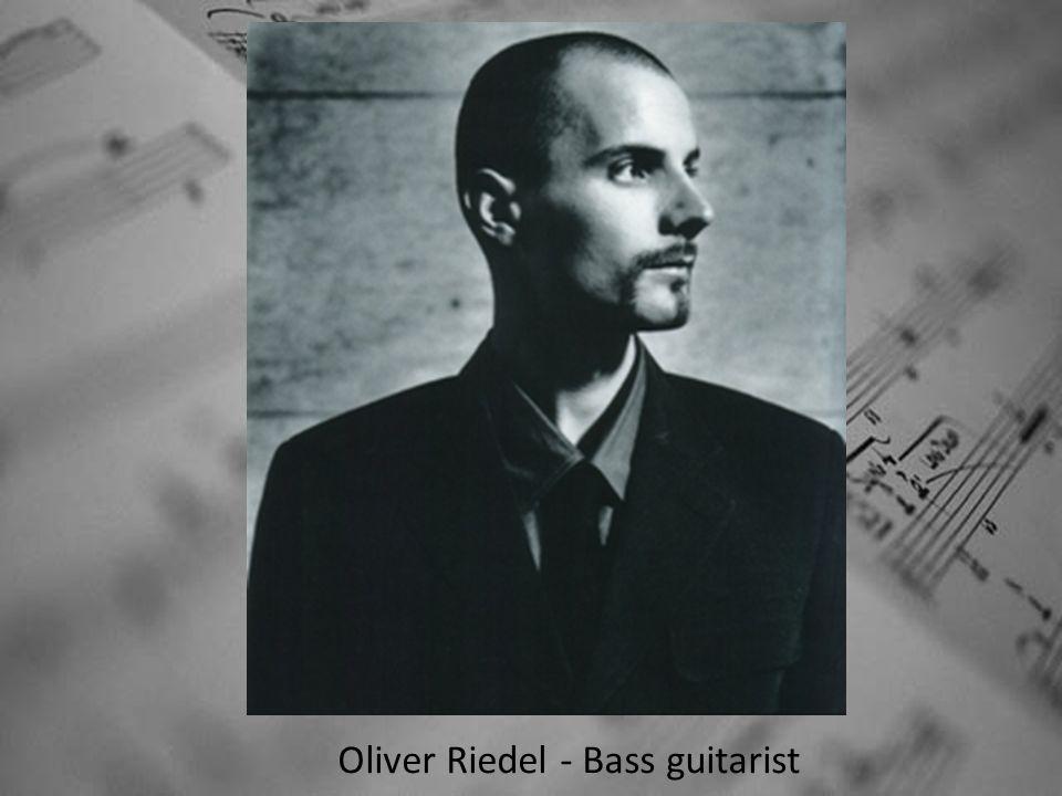 Oliver Riedel - Bass guitarist