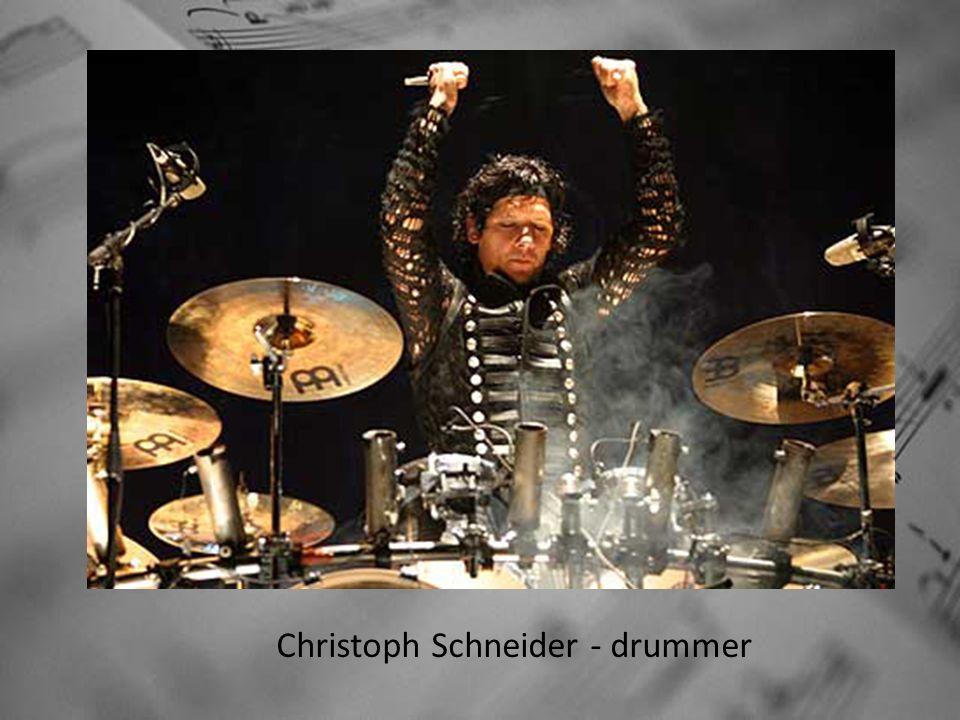 Christoph Schneider - drummer