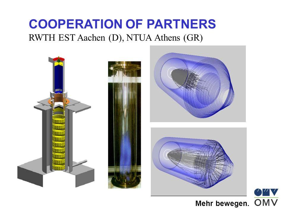 Mehr bewegen. COOPERATION OF PARTNERS RWTH EST Aachen (D), NTUA Athens (GR)