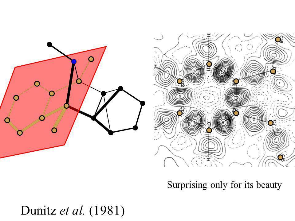 Dunitz et al. (1981) Surprising only for its beauty