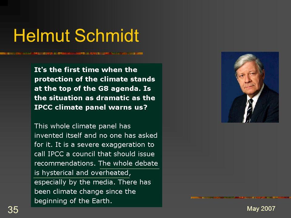 35 Helmut Schmidt May 2007