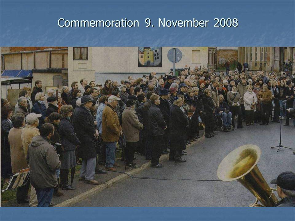 Commemoration 9. November 2008