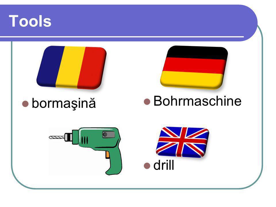 Tools bormaşină Bohrmaschine drill