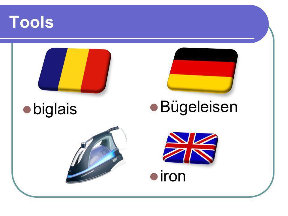 Tools biglais Bügeleisen iron