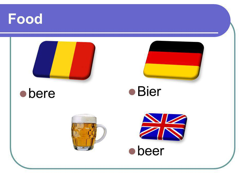 Food bere Bier beer