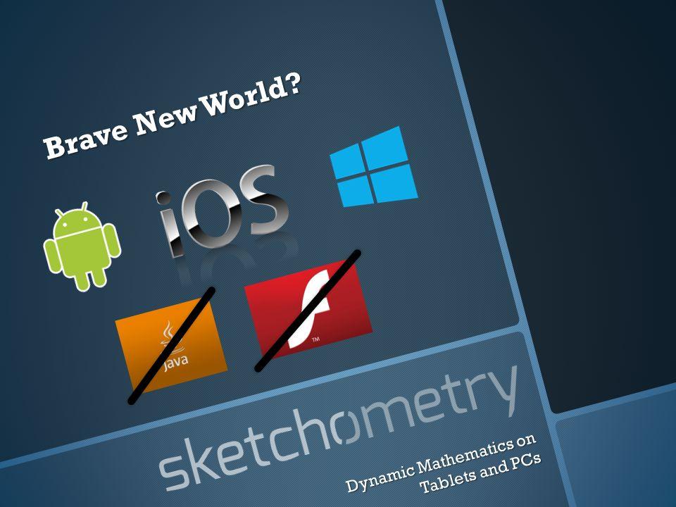 Brave New World? Dynamic Mathematics on Tablets and PCs