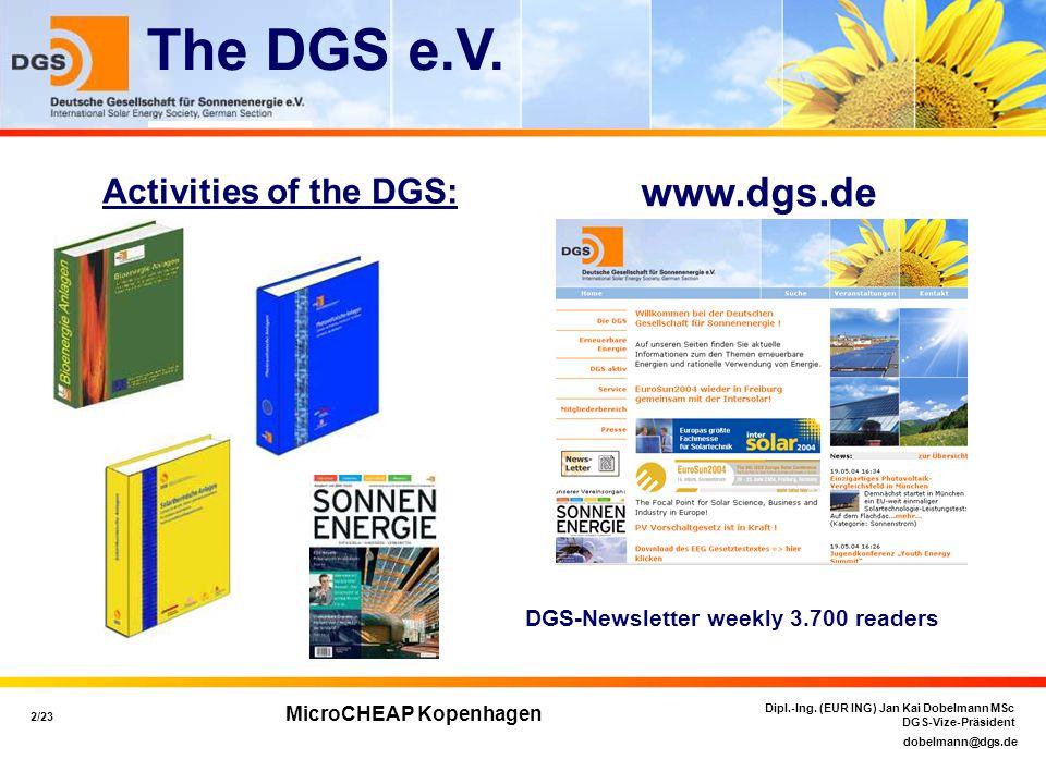 dobelmann@dgs.de 3/23 Dipl.-Ing.